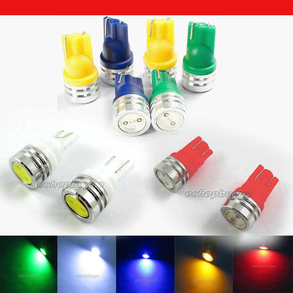 t10 1w 168 194 smd w5w led car tail wedge light lamp bulb. Black Bedroom Furniture Sets. Home Design Ideas