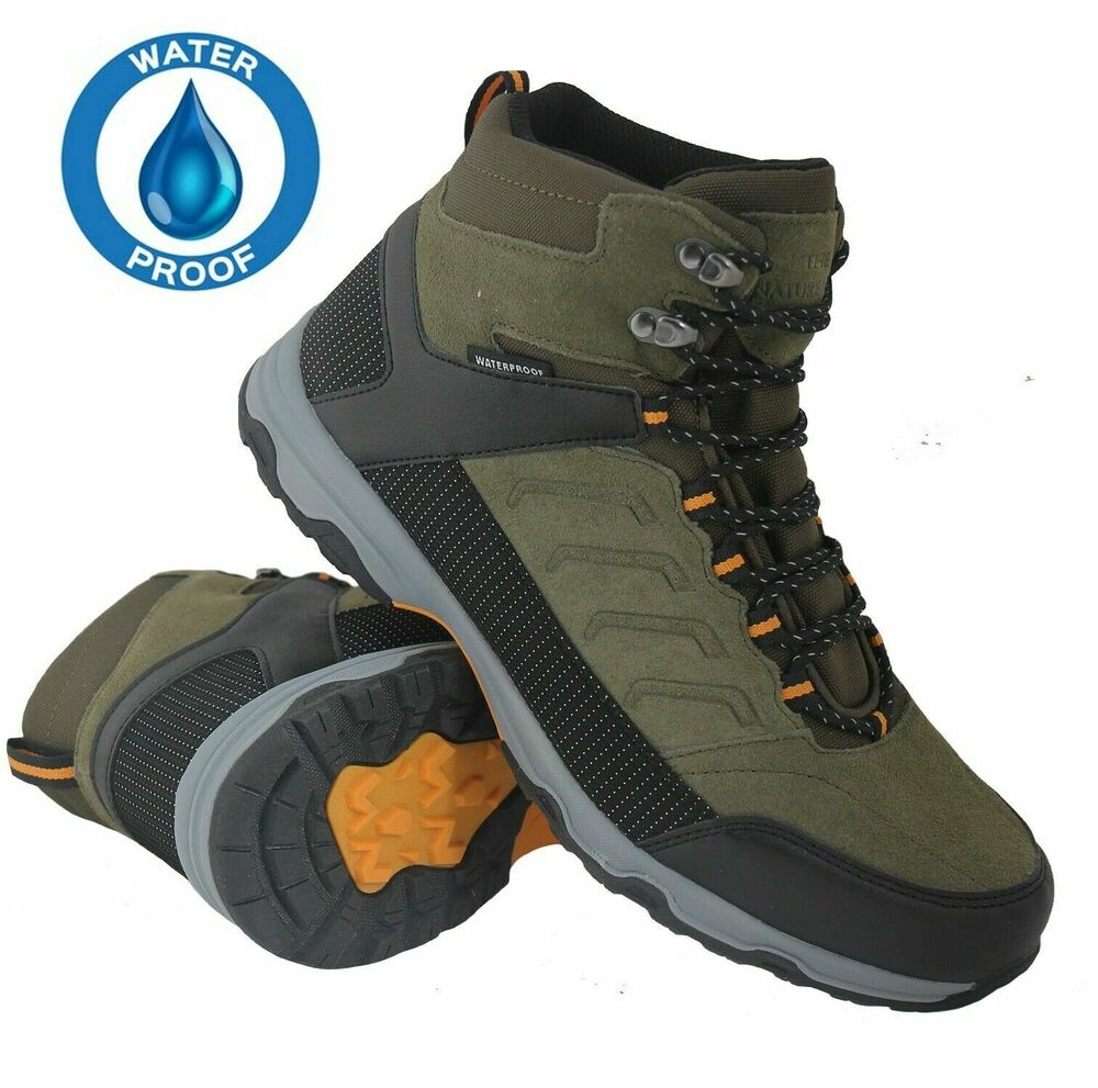 mens ankle hi high tops trainers boots casual work hiking