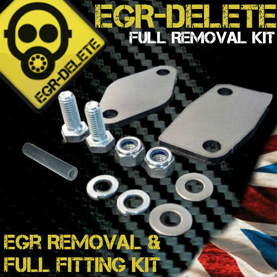 AUDI A6 EASY FIT EGR EXHAUST VALVE BLANKING PLATE 1.5MM STEEL HA