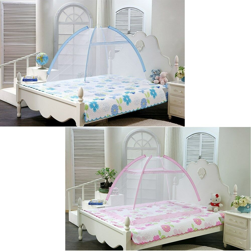 Portable Foldable Baby Kids Toddler Bed Canopy Mosquito
