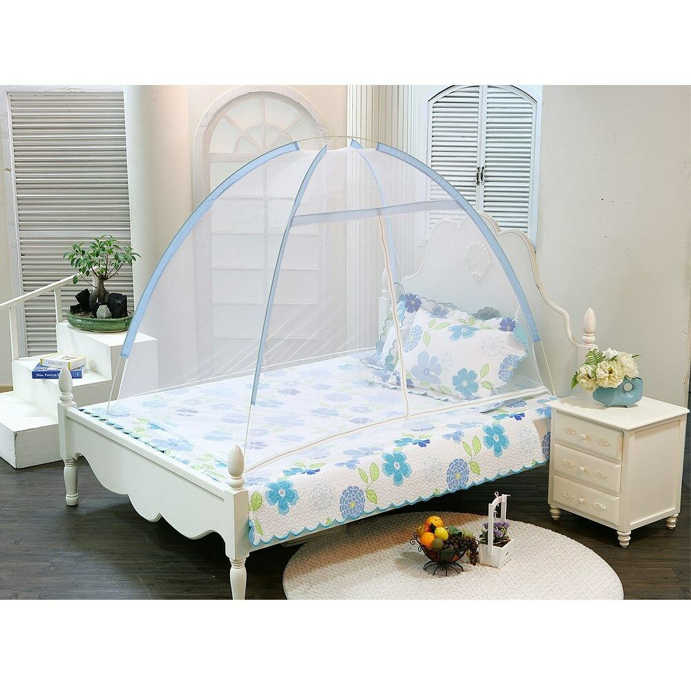 Made in korea new portable foldable bed canopy mosquito for Canopy over bed