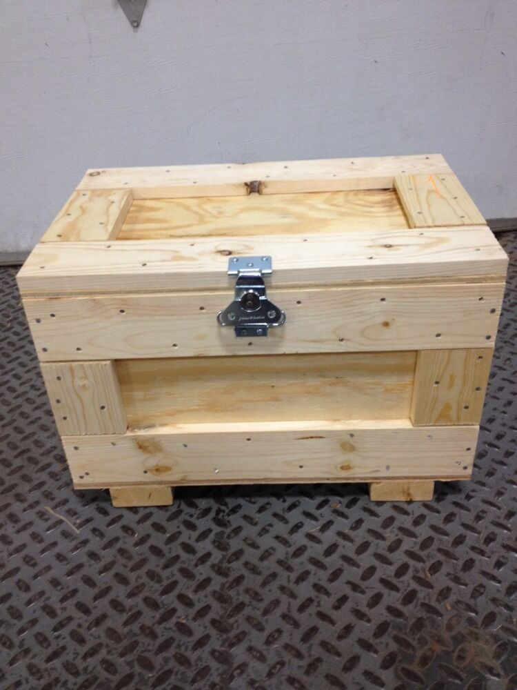 Shipping crate brand new with hinges and quick lock custom for Used boxes for moving house