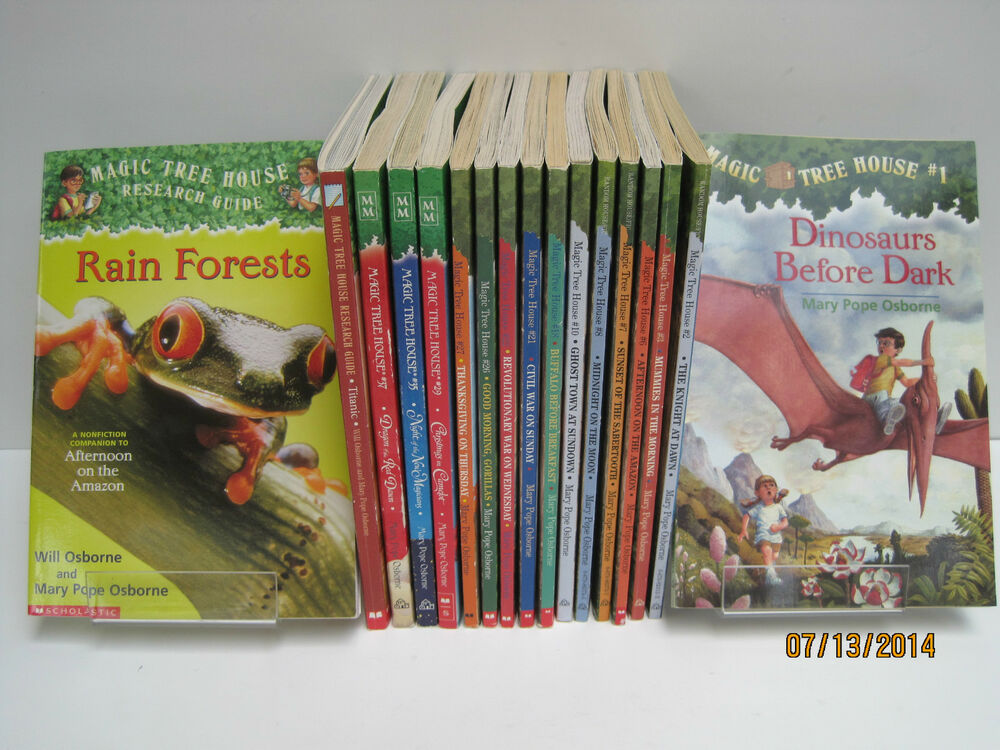 Magic Tree House Lot (10) SC ~ #18 Buffalo Before Breakfast ~ Classroom Set