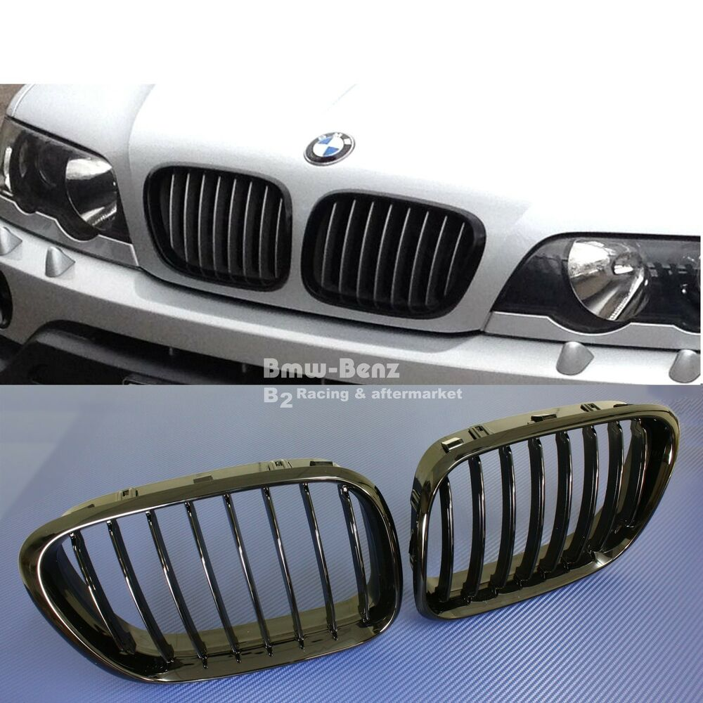 2000-2003 BMW E53 X5 FRONT GRILLE Front Hood Bumper Kidney
