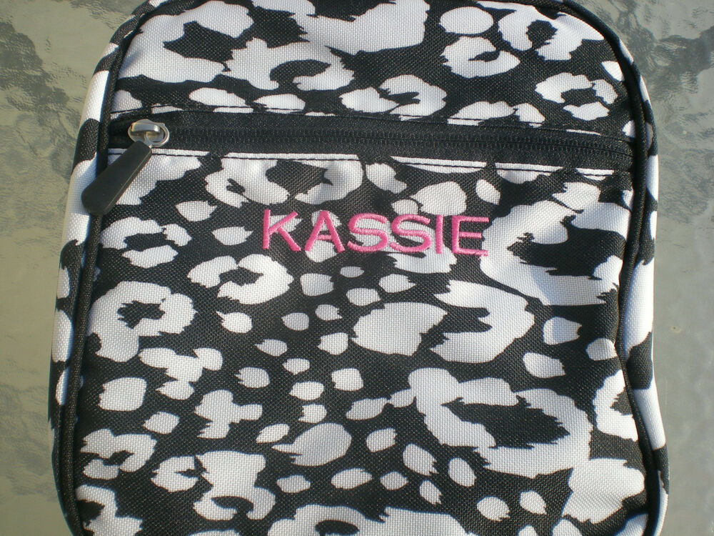 Monogrammed Kassie Black Amp White Pottery Barn Teen