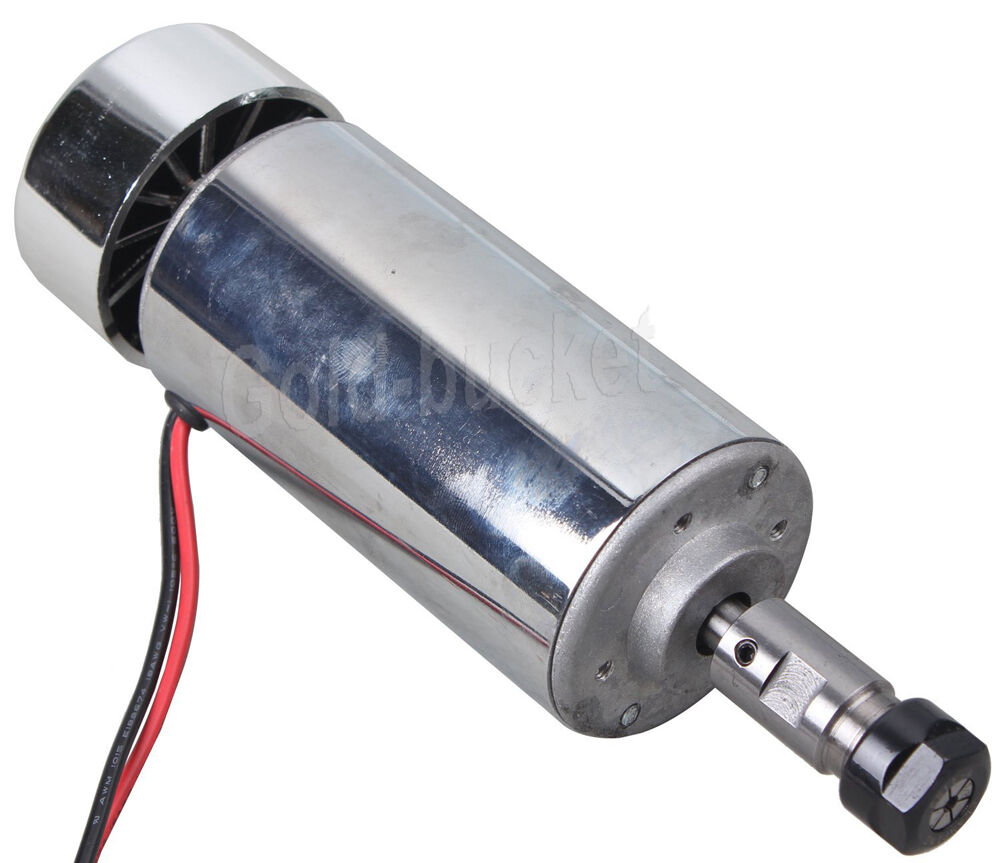400w dc spindle motor brush high speed air cooled chrome for High speed spindle motors