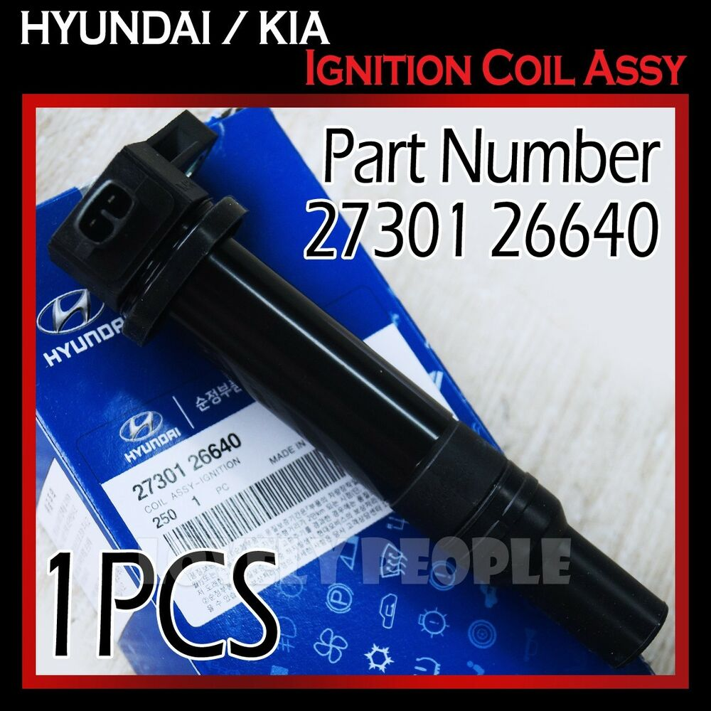 New Oem Ignition Coil 2730126640 For Hyundai Accent 06 10
