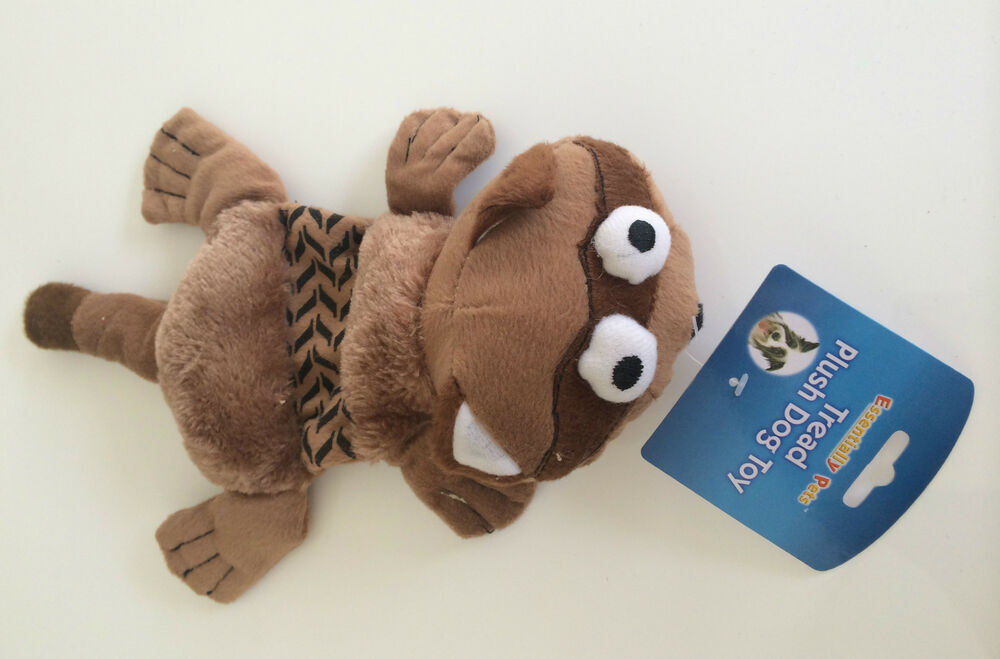 Plush Puppies Squeaky Dog Toy
