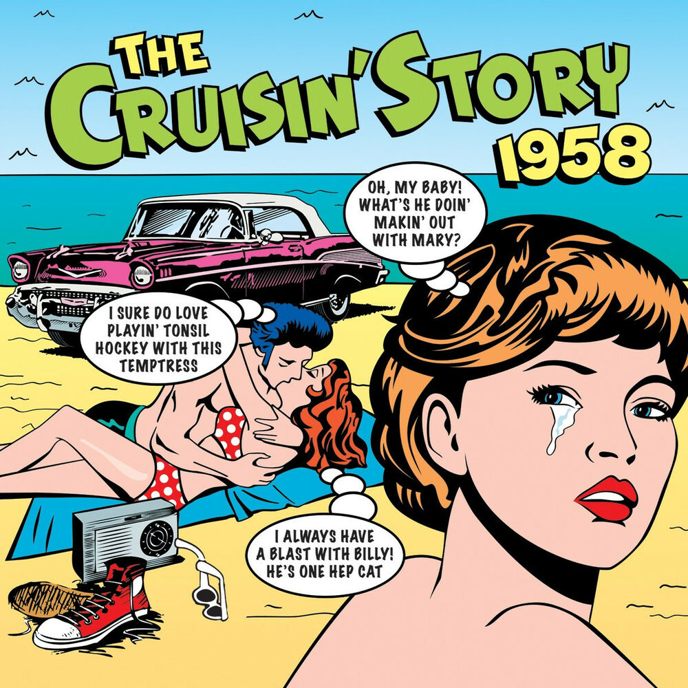 Various - Cruisin' 1958 (History Of Rock 'N' Roll Radio)