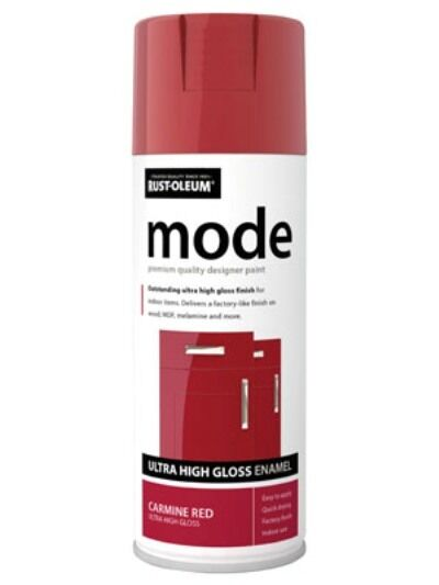 mode carmine red high gloss rust oleum fast dry spray. Black Bedroom Furniture Sets. Home Design Ideas