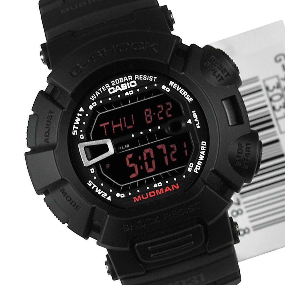 Casio men 39 s g9000ms 1cr g shock military concept black digital watch 704121318746 ebay for Watches g shock