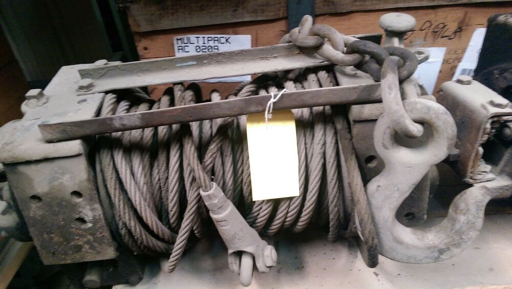Winch M37 M715 8000lbs Military Truck Parts 2 5 Ton