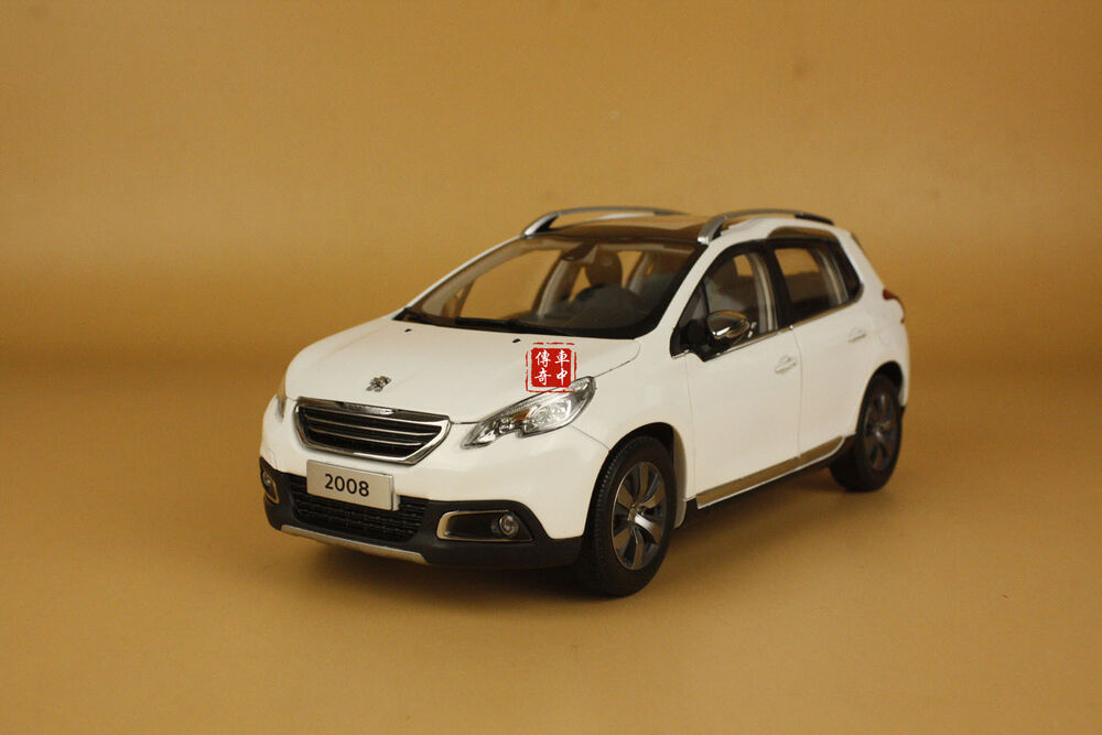 1 18 2014 new china peugeot 2008 suv model white color ebay. Black Bedroom Furniture Sets. Home Design Ideas