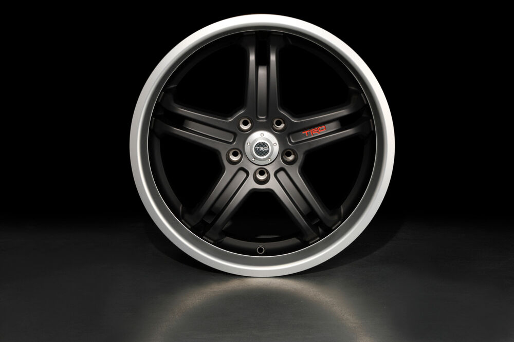 19 Inch Black Trd Alloy Wheels For Scion Xb Set Of 4 New
