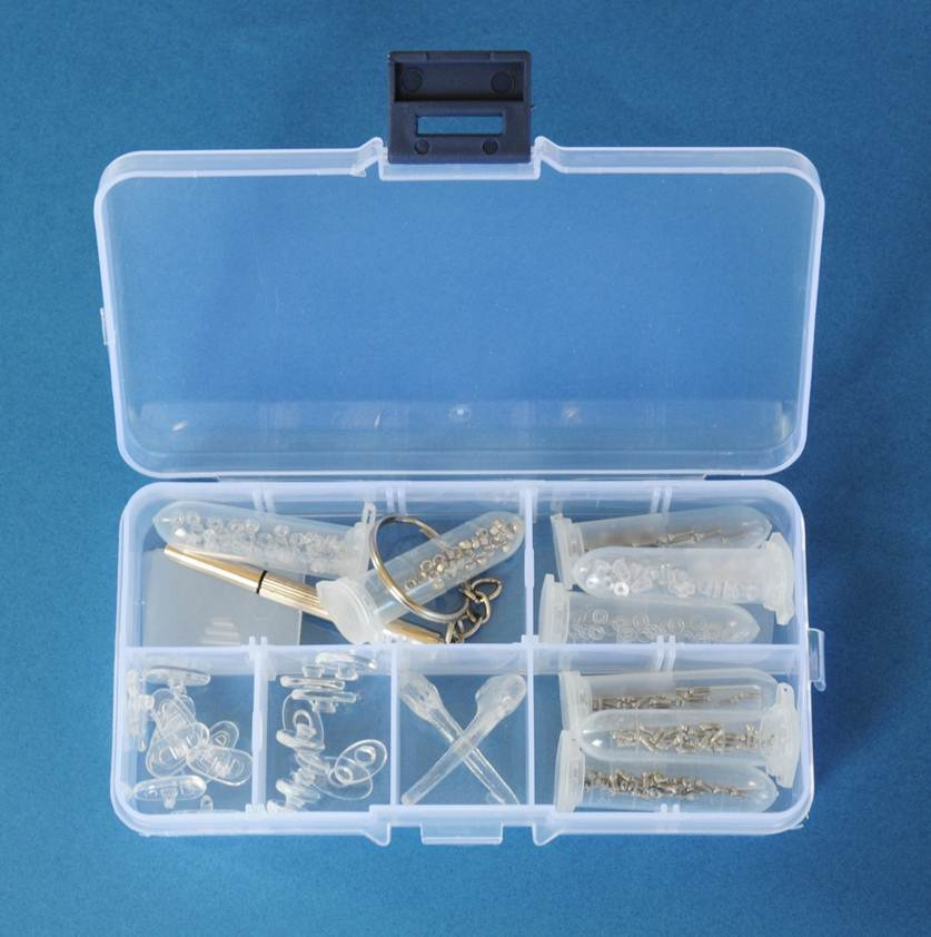 Eyeglass Frame Repair Kit : Eyeglass Reading Glasses Frame Screwdriver Screw Nose Pad ...