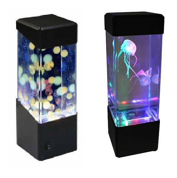 Jellyfish Water Ball Aquarium Tank Led Lights Lamp