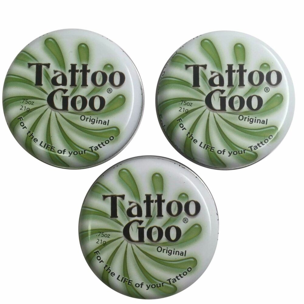 3 x tattoo goo salve tattoo aftercare ointment ebay for Tattoo goo where to buy