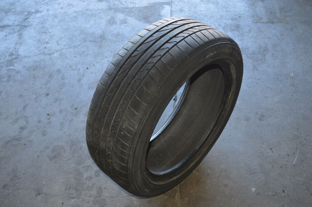 bridgestone potenza re050a 225 50r18 95w tire tread depth 7 5 32 used ebay. Black Bedroom Furniture Sets. Home Design Ideas