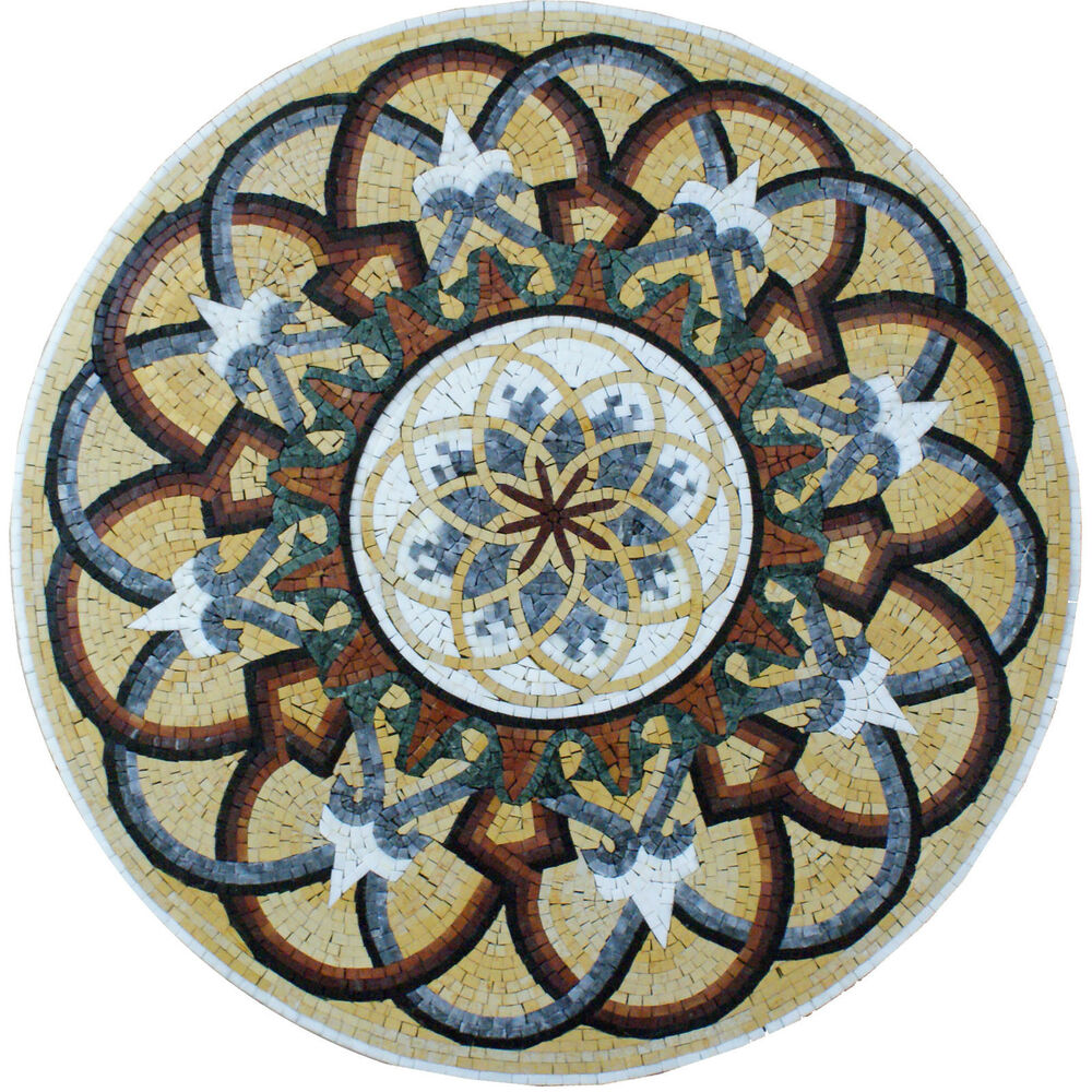 Majestic arabesque decor interior floor home marble mosaic for Mosaic home decor