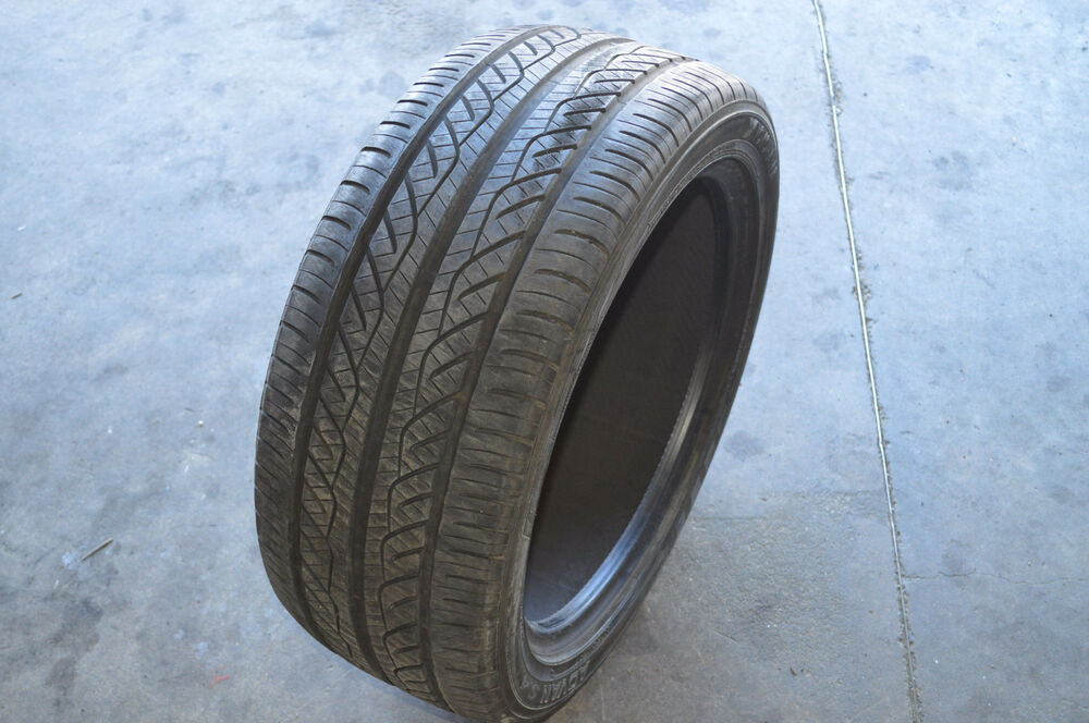 yokohama advan s 4 245 45r18 96w tire tread depth 7 5 32 used ebay. Black Bedroom Furniture Sets. Home Design Ideas