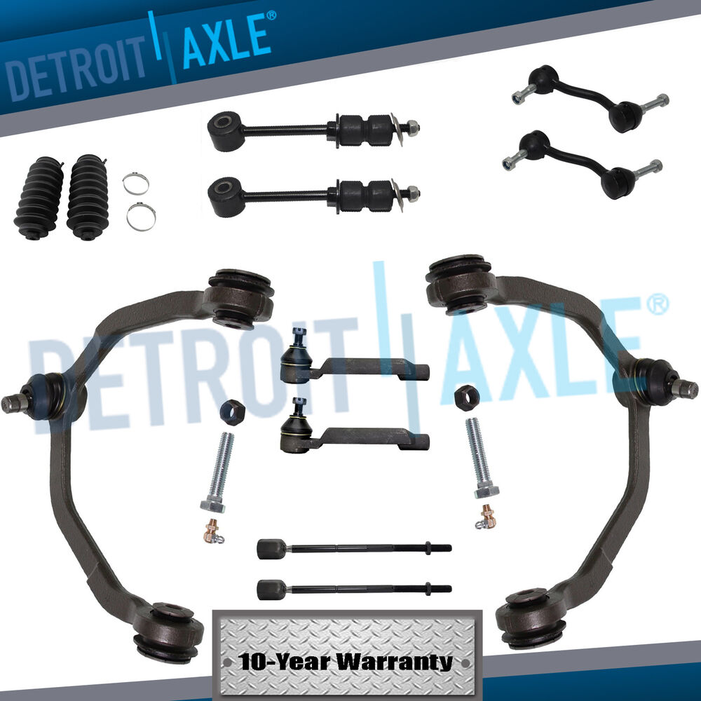 Brand New 12pc Complete Front Suspension Kit For 1993 97 Ford Thunderbird Cougar Ebay