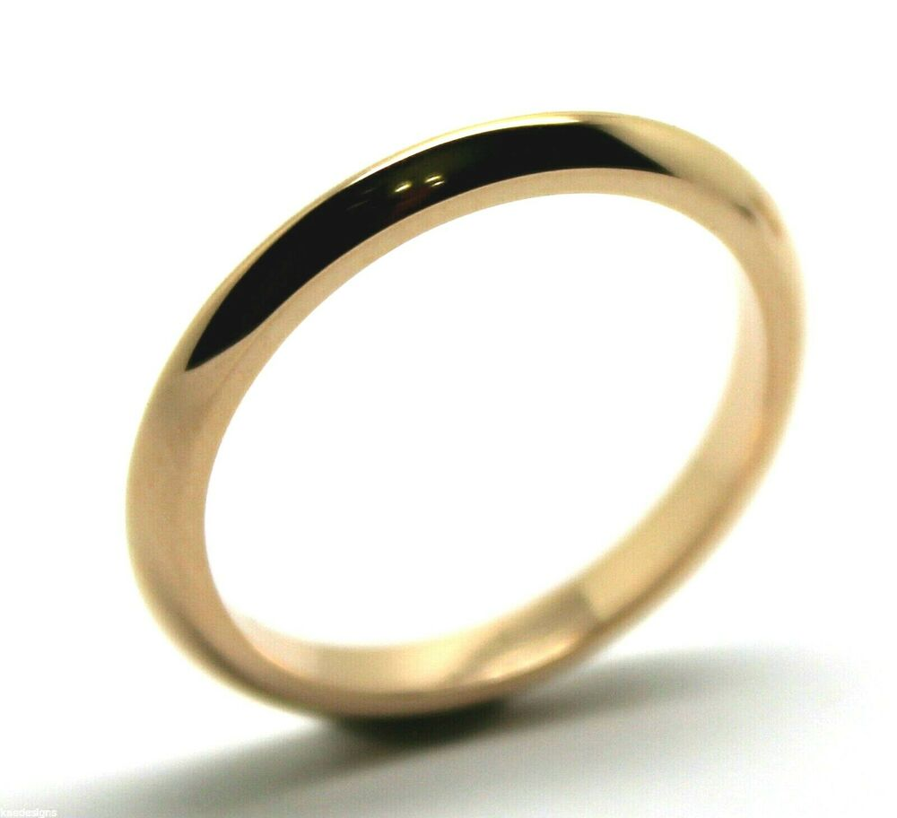 knife edge 1mm wide 9ct yellow white gold wedding