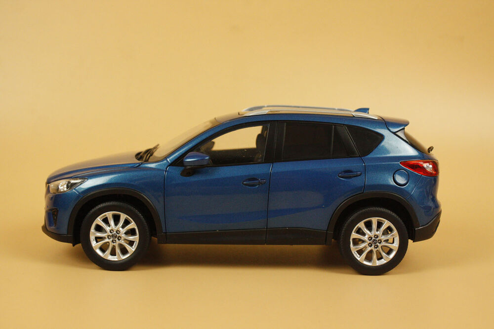 1 18 2014 new mazda cx 5 blue color gift ebay. Black Bedroom Furniture Sets. Home Design Ideas