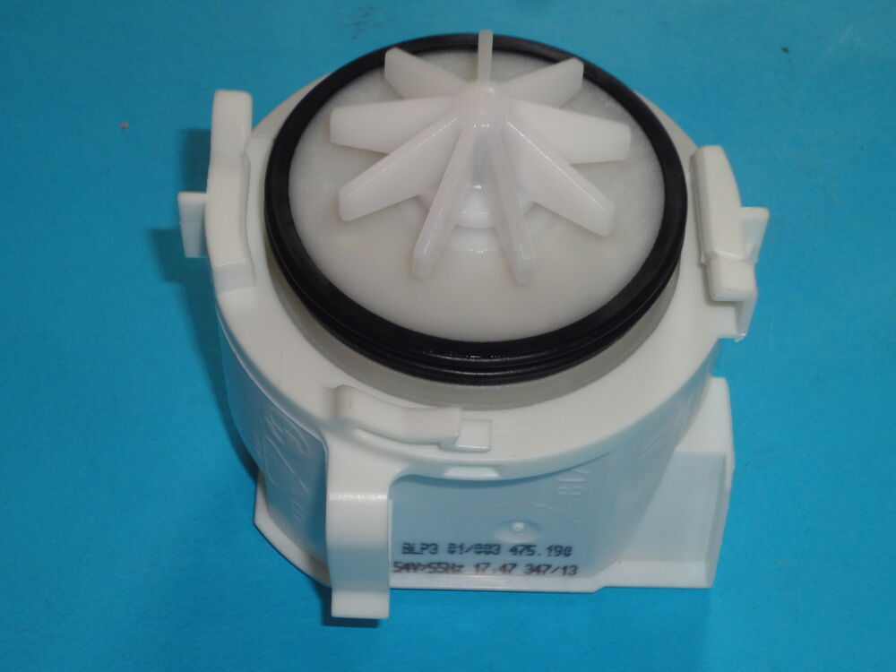 Bosch dishwasher drain pump genuine parts 620774 ebay - Bosch dishwasher pump not draining ...