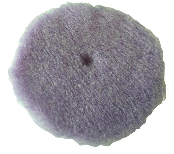 lake country purple foamed wool buff pad 6 5 inch 584265. Black Bedroom Furniture Sets. Home Design Ideas