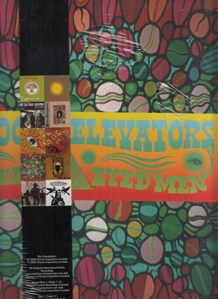 13th floor elevators sign of the 3 eyed man box set sealed