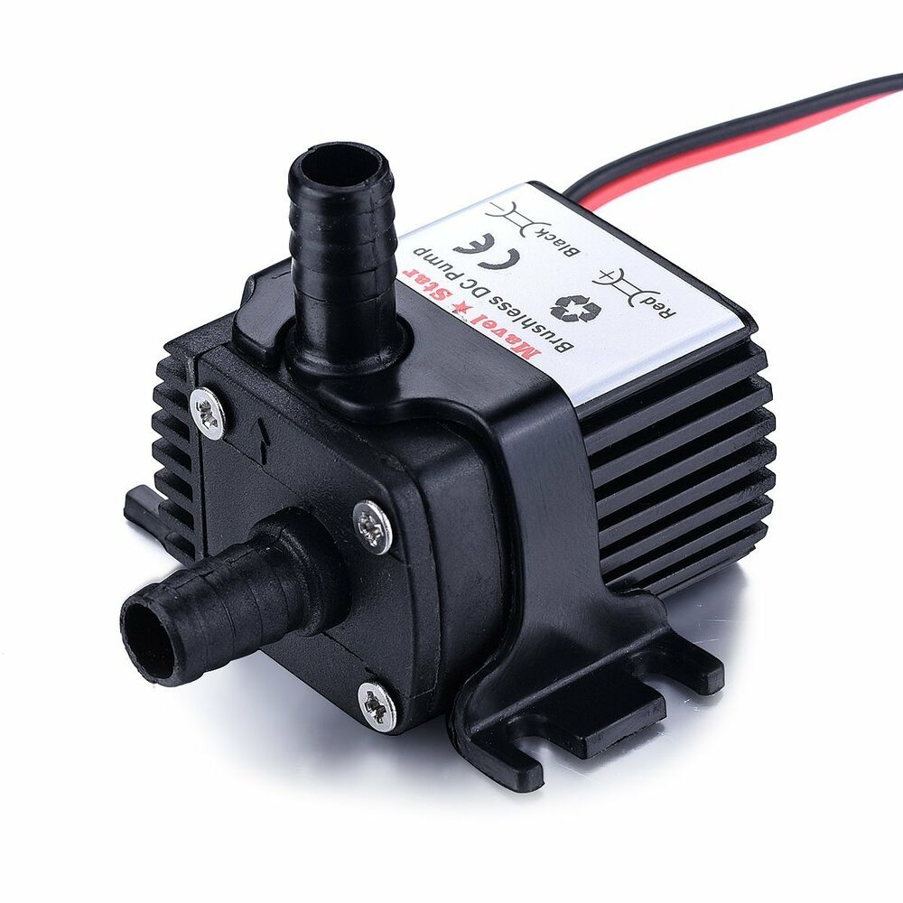 12v Dc 65 Gph Water Pump For Pc Water Liquid Cooling Solar