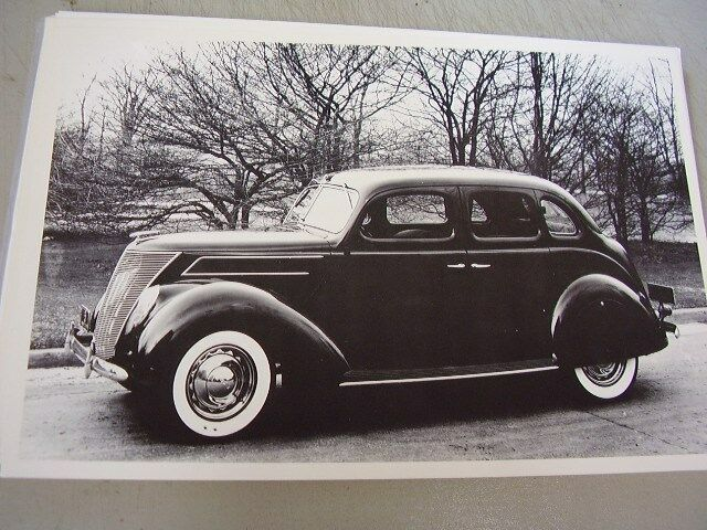 1937 ford 4 door loaded skirts etc 12 x 18 large picture for 1937 ford four door