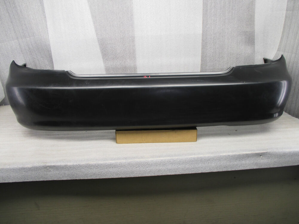 toyota camry rear bumper cover oem 2002 2003 2004 2005 2006 02 06 ebay. Black Bedroom Furniture Sets. Home Design Ideas