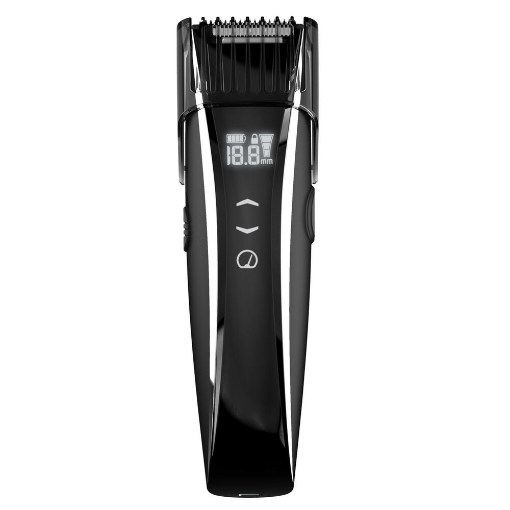 remington mb4550t rechargeable men 39 s mustache beard trimmer touch control lcd ebay. Black Bedroom Furniture Sets. Home Design Ideas