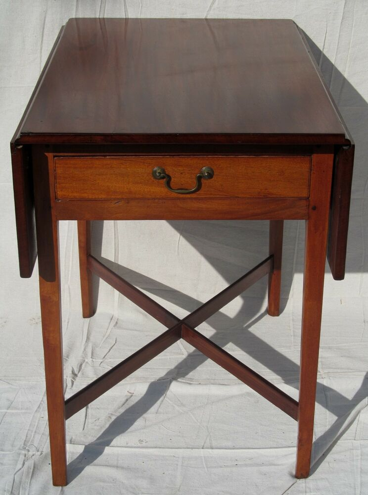 Fine 18th century new england chippendale mahogany for England table