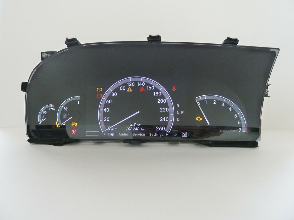 Mercedes benz cl550 cl63 cl65 s550 s63 s65 w216 w221 for Mercedes benz cluster repair