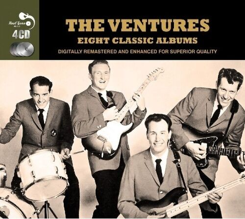 Ventures Eight 8 Classic Albums Walk Don T Run Another