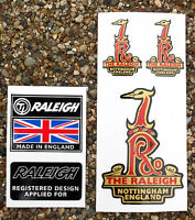 RALEIGH Vintage style GRIFTER MADE IN ENGLAND Stickers