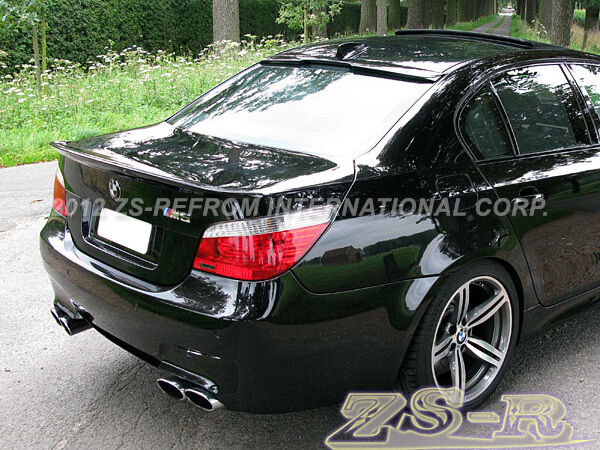 Painted Ac Trunk Wing Roof Spoiler Lip 2004 2010 Bmw E60 525i 528i 535i 550i 4dr