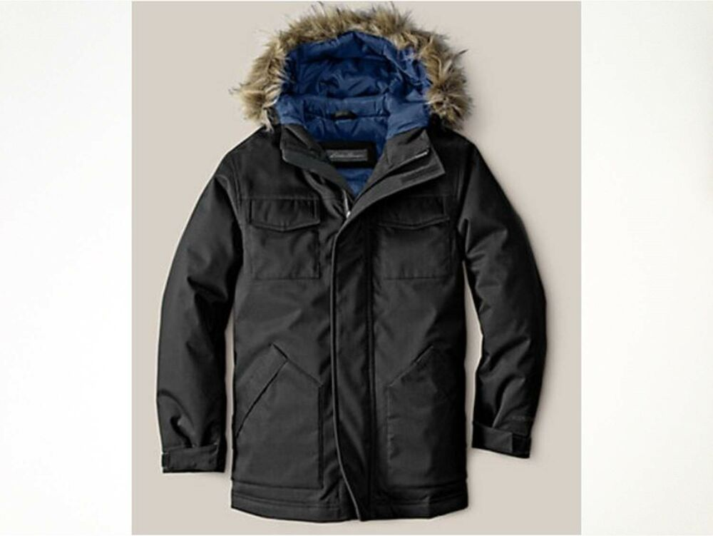 79a59928c436 Details about NWT Eddie Bauer Boys  Weatheredge Superior Down Parka 550 FP  Waterproof  129