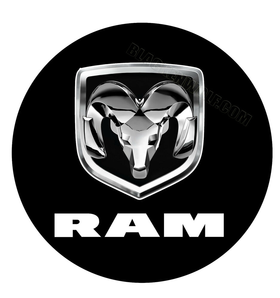 dodge ram vehicle door logo lights 3w l e d puddle. Black Bedroom Furniture Sets. Home Design Ideas