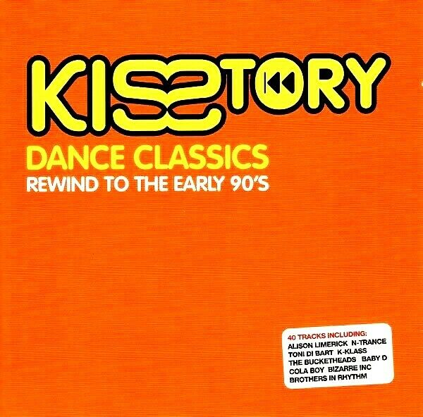 Kisstory dance classics 2 x unmixed cds trance funky for Funky house classics 2000