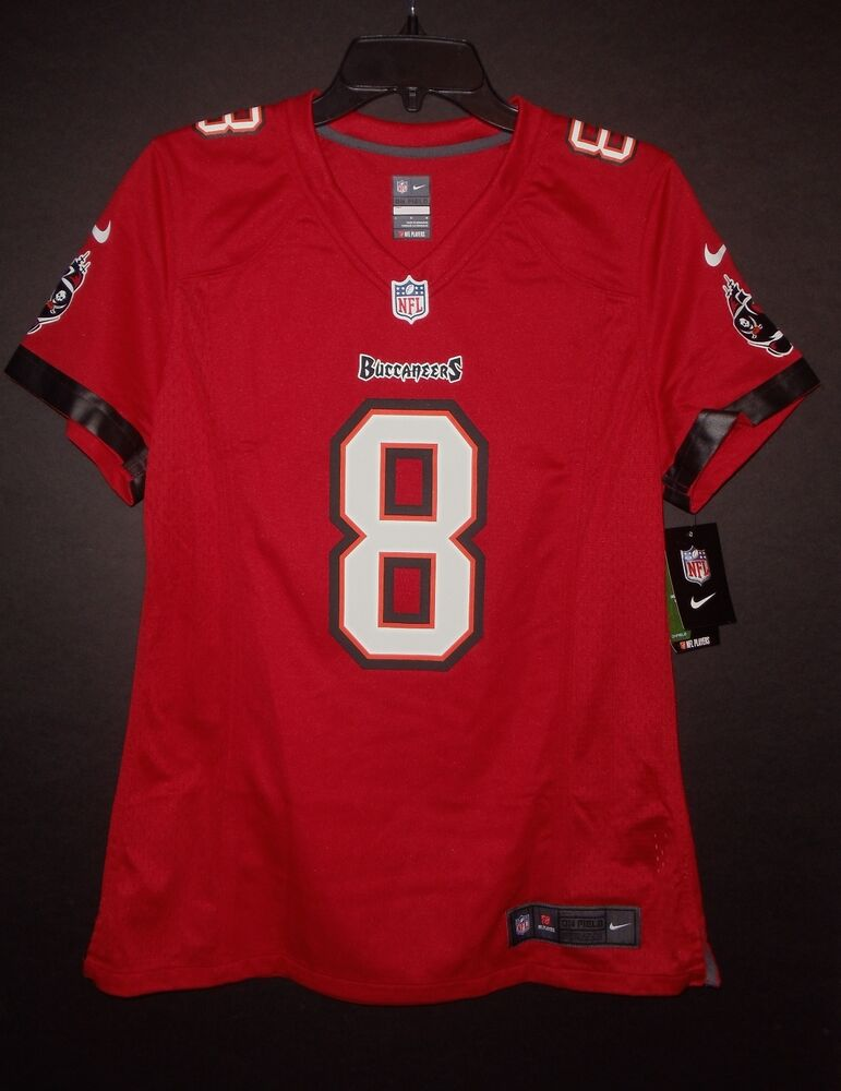 Details about Mike Glennon Tampa Bay Buccaneers Women s Large Red Nike Game  Jersey NWT be7a7be4a