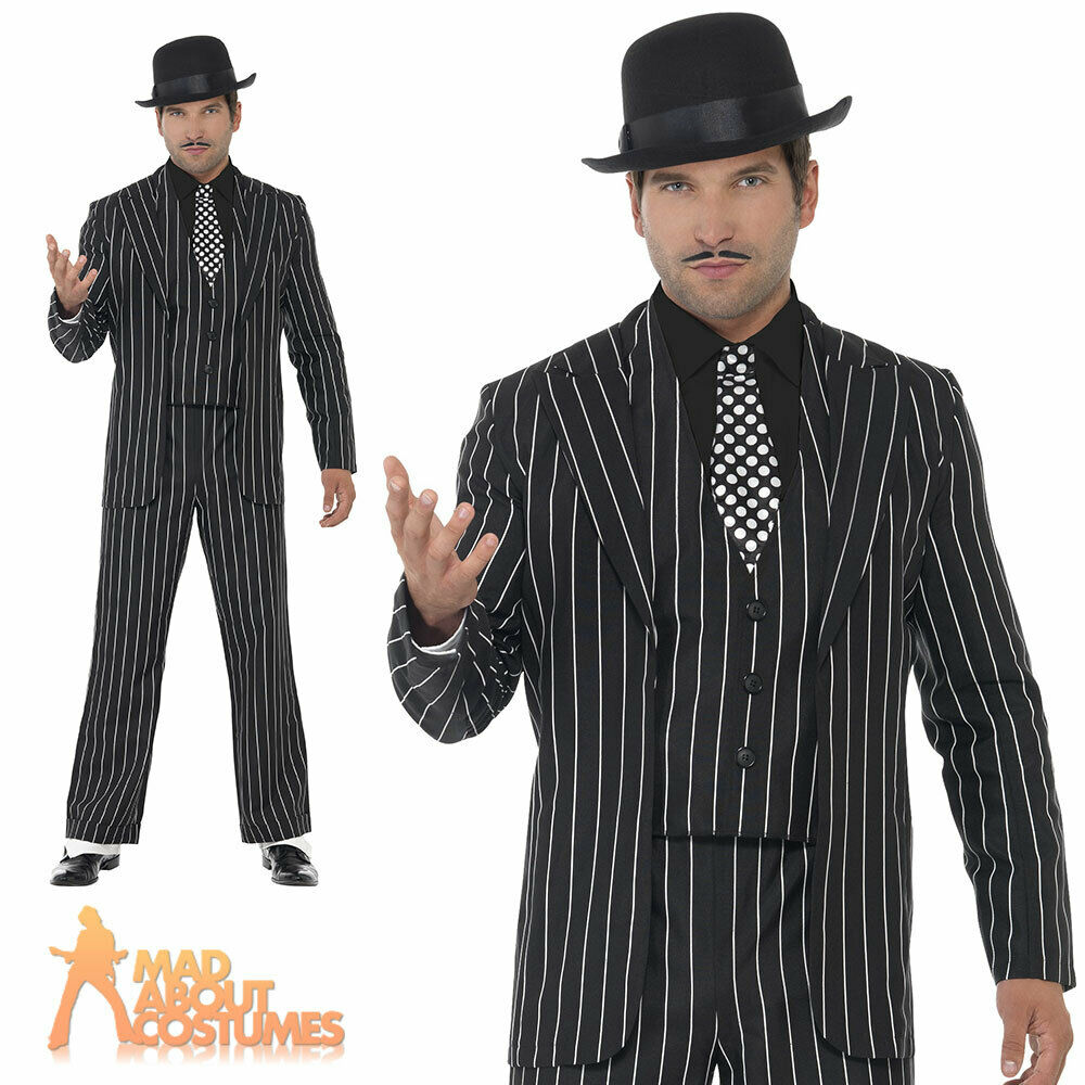 mens mobster gangster adult costume