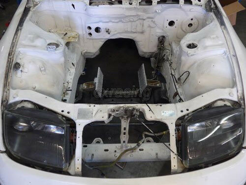 from Marc 300zx tranny fluid clear