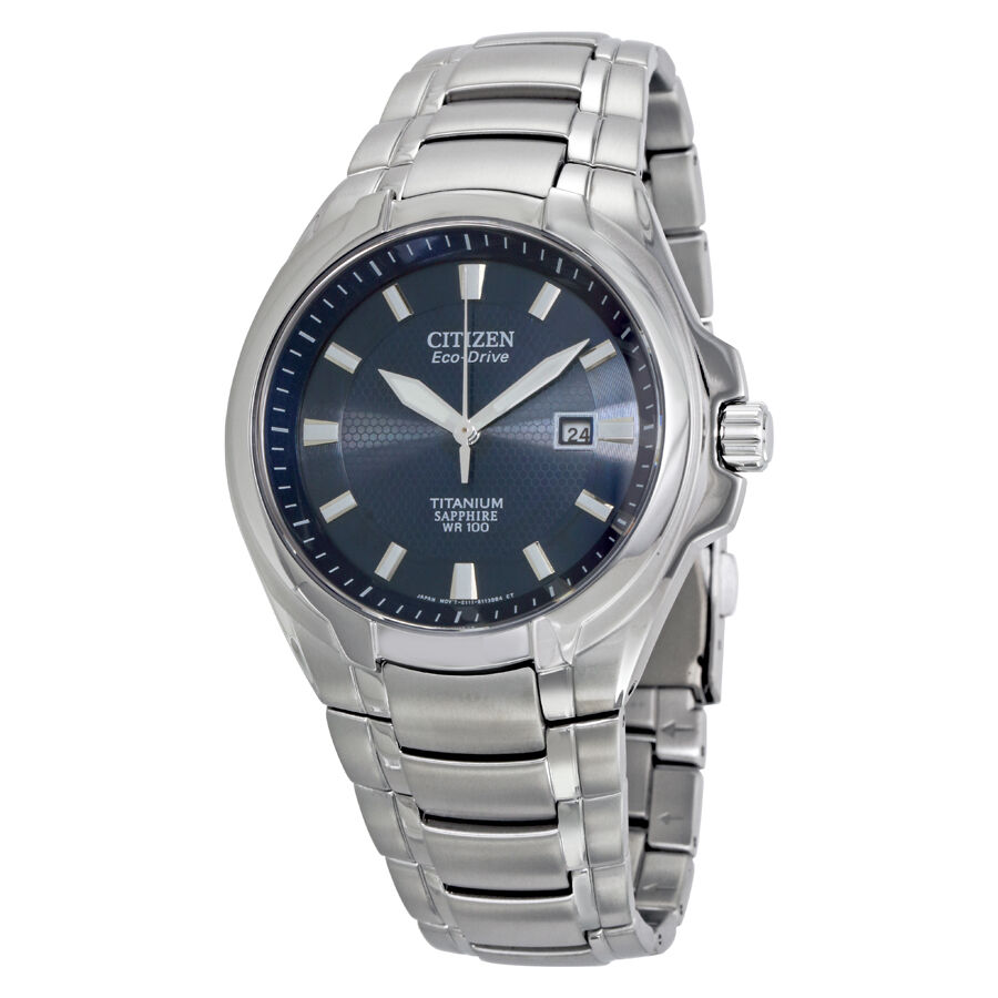 Citizen eco drive titanium mens watch bm7170 53l 13205095467 ebay for Titanium watches