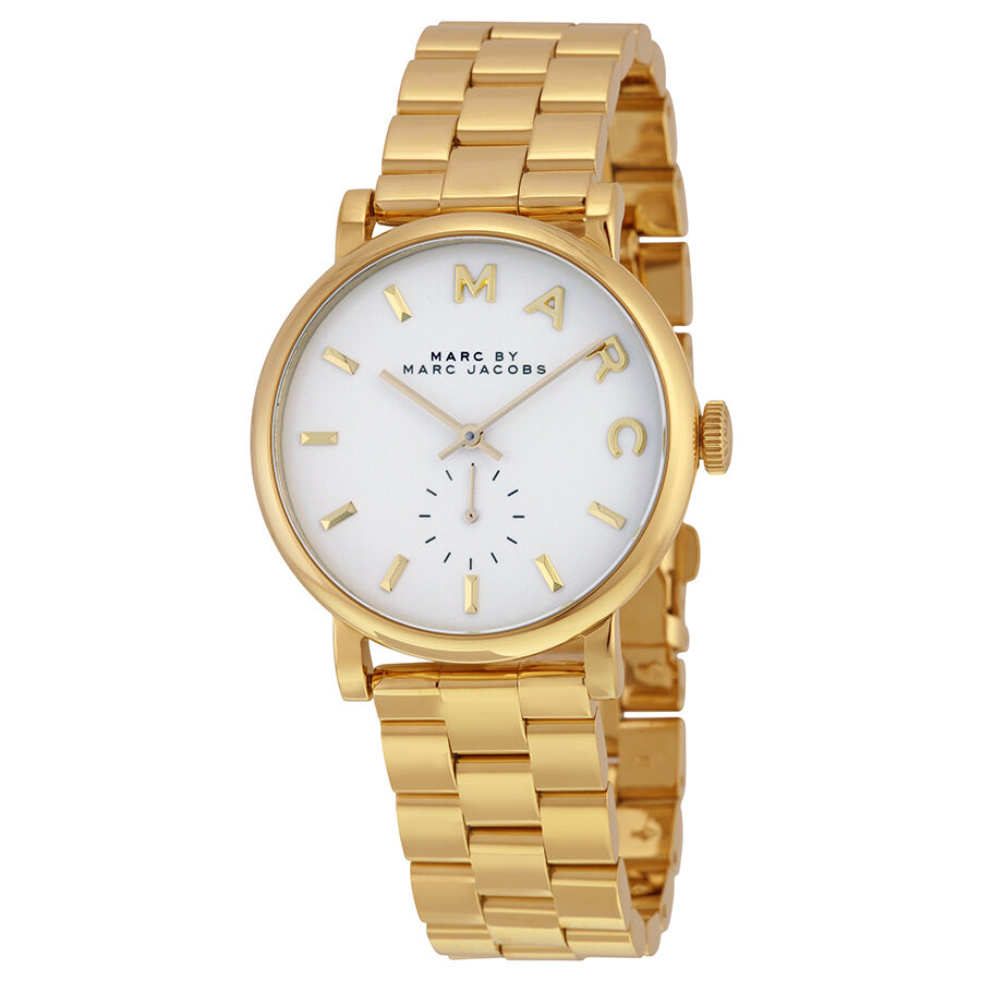 Marc by Marc Jacobs Gold-tone Ladies Watch MBM3243 796483029040  eBay