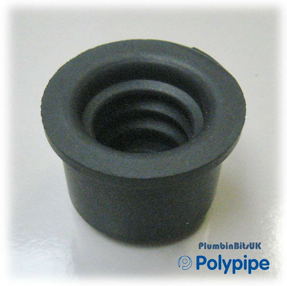 Polypipe wp mm rubber pushfit reducer to overflow