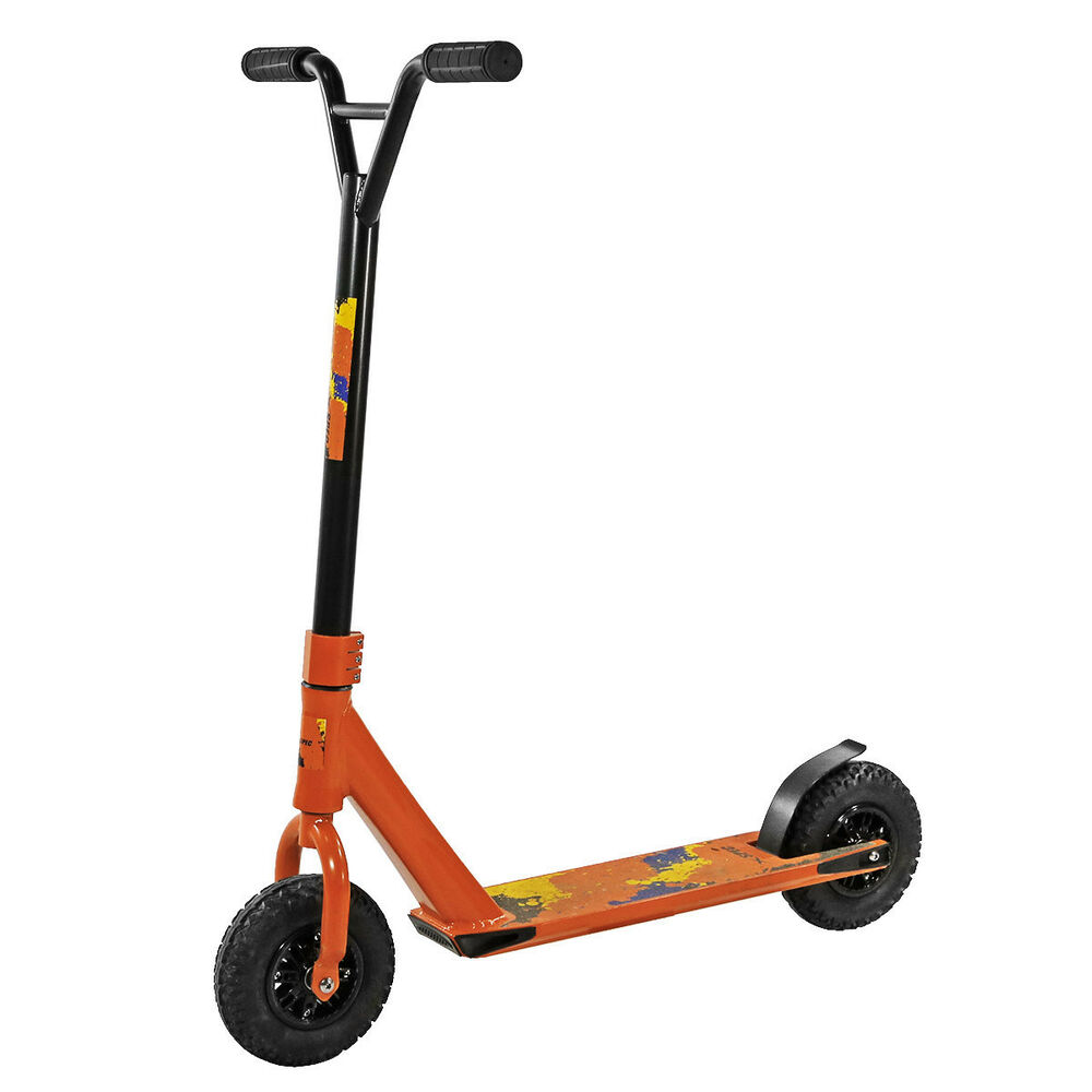 xspec aluminum pro stunt dirt kick scooter offroad tires. Black Bedroom Furniture Sets. Home Design Ideas