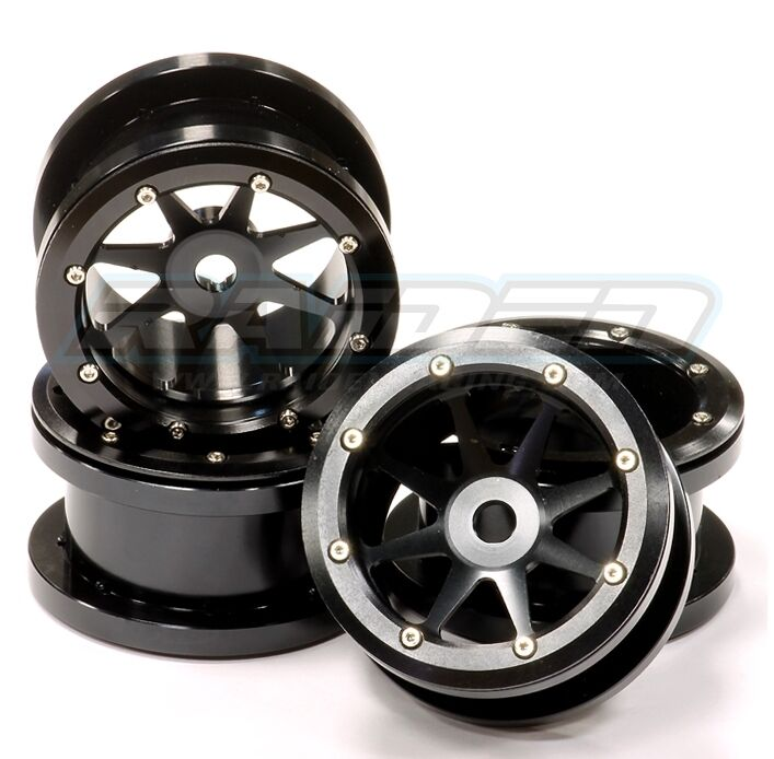 Axal And Wheel : Alloy beadlock crawler wheels rims for axial